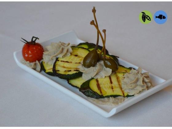 Zucchine con salsa sgombro